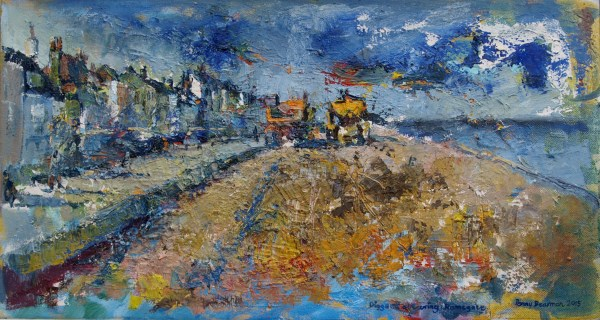 Diggers obscuring Ramsgate 14X26