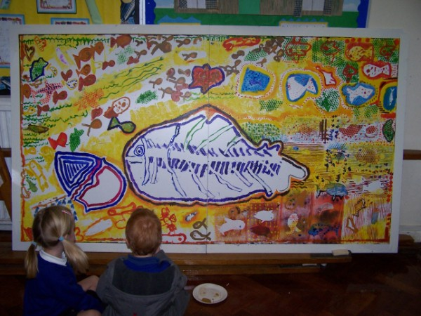 Scroll down for Northbourne School Mural Project