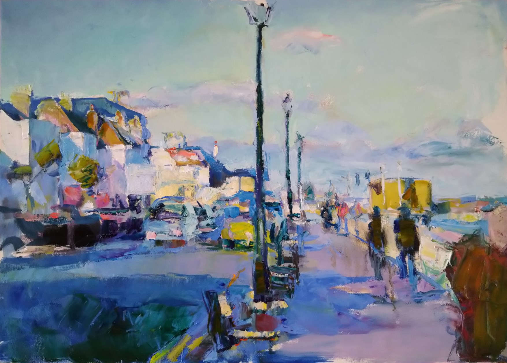 Sunlight and shadows Deal Seafront 16x24