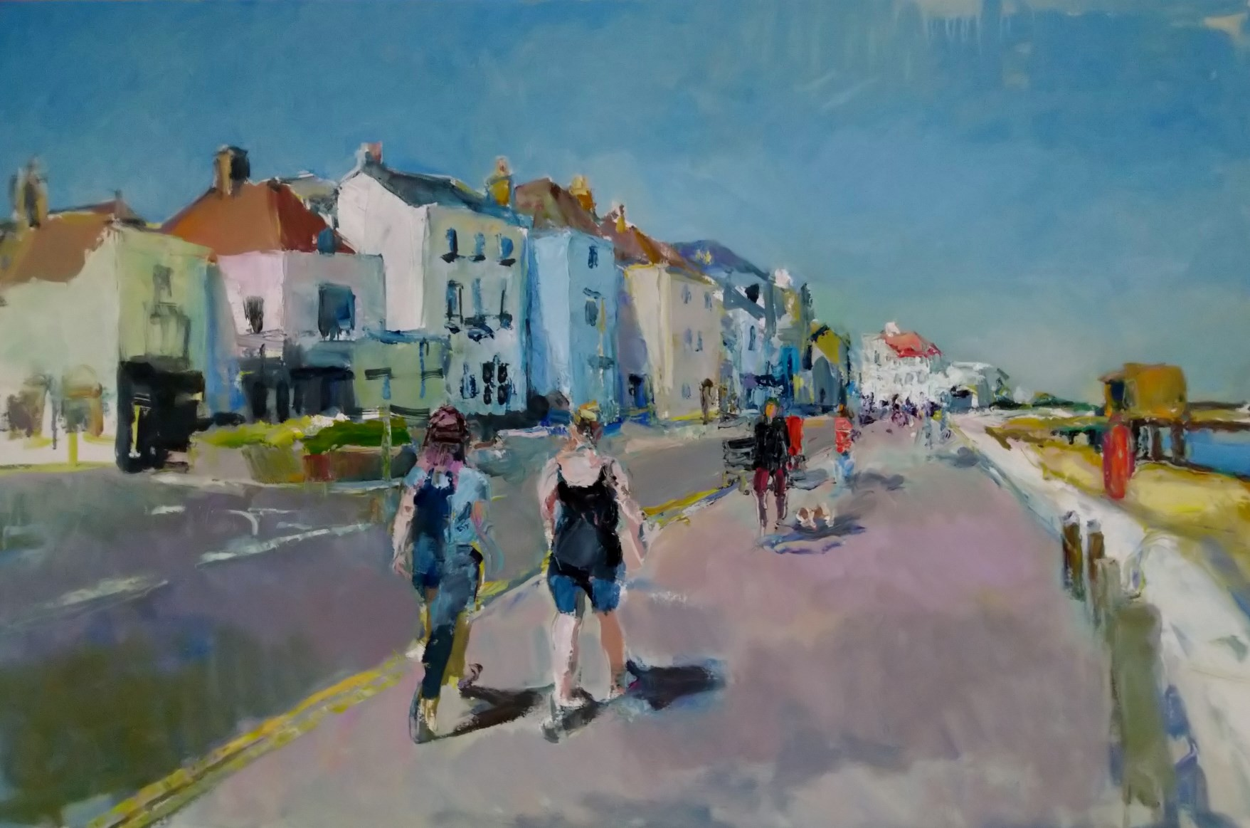 Promenading Deal Celebration 24x36